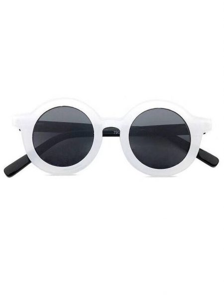 משקפי שמש אור- לבן משקפי שמש