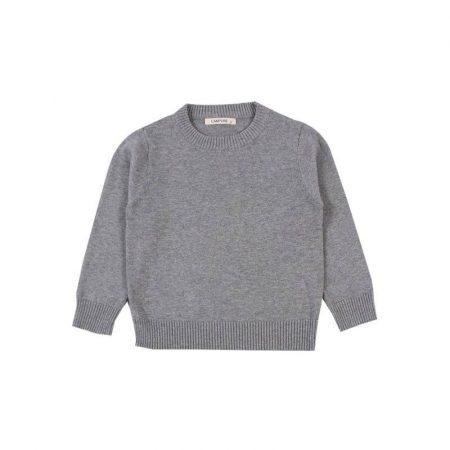 סוודר קליל ונעים. סוודר מיילו צבע אפור. מידה: 4 המציאות של ULIANA