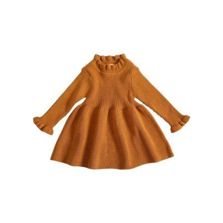 שמלת בובה סרוגה שמלות