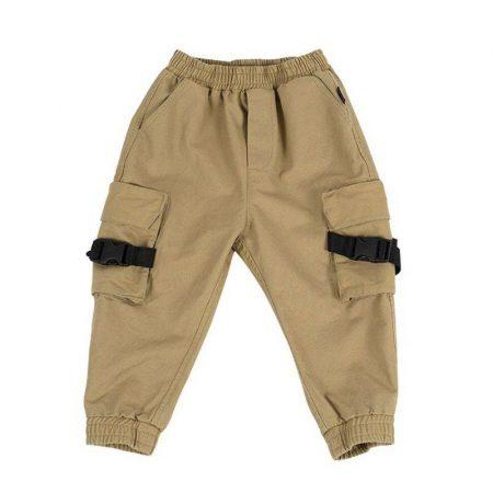 מכנסיים שהם שיק לבנים. מכנסי מייקל צבע בז'. מידה 4 המציאות של ULIANA