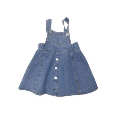 אוברול שמלה ג'ינס אוברולים
