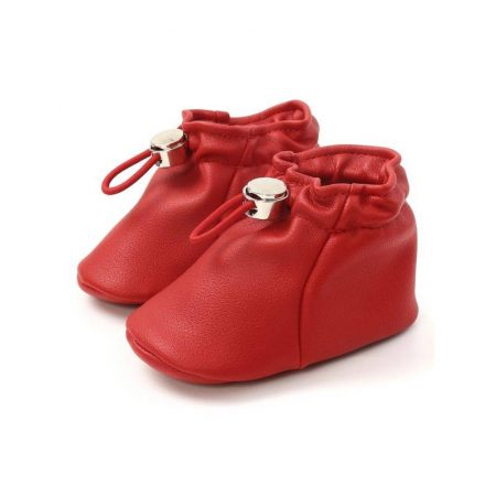 נעלי בנות. נעל אמה בצבע אדום. מידה: 9-12 חודשים נעליים