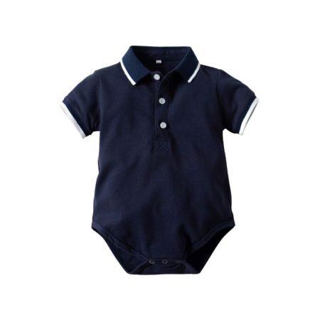 בגד גוף ספורט אלגנט כחול בגדי גוף