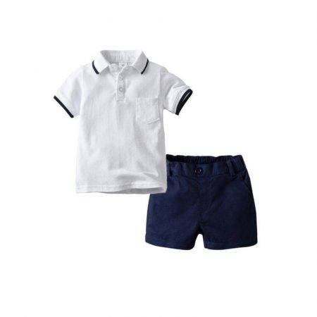 חליפת ספורט אלגנט לבן חליפות
