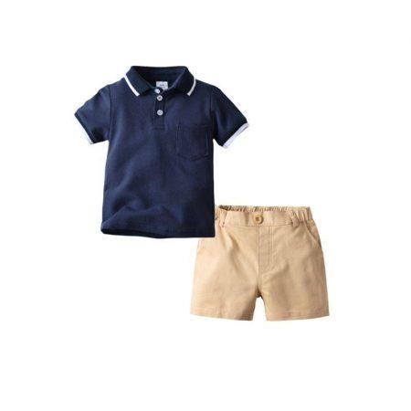חליפת ספורט אלגנט כחול חליפות