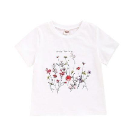 חולצת פרחים חולצות