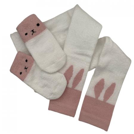 גרביון ארנבת. מידה: 1-2 שנים גרביים וגרביונים