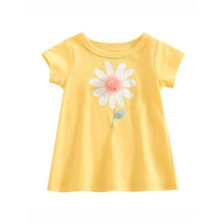 חולצת פרח- מידה: 18-24 חודשים חולצות