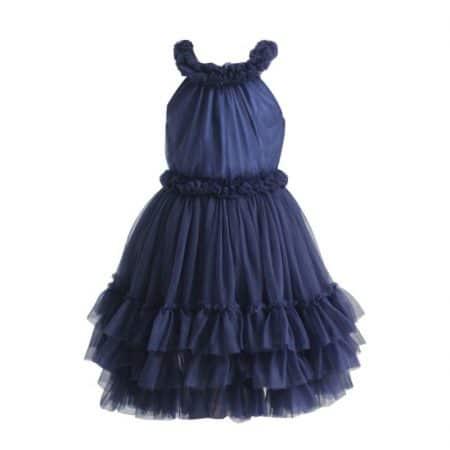 שמלת מלמלה כחולה קולקציית אירועים