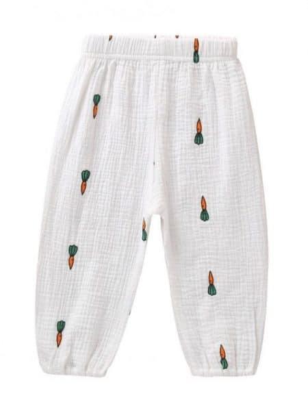 מכנסיים גזר- מידה: 12-18 חודשים מכנסיים