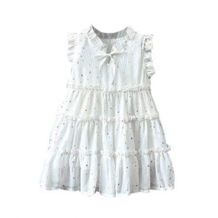 שמלת כוכבים לבנה קולקציית אירועים