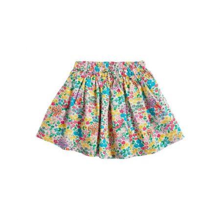 חצאית פרחים חצאיות