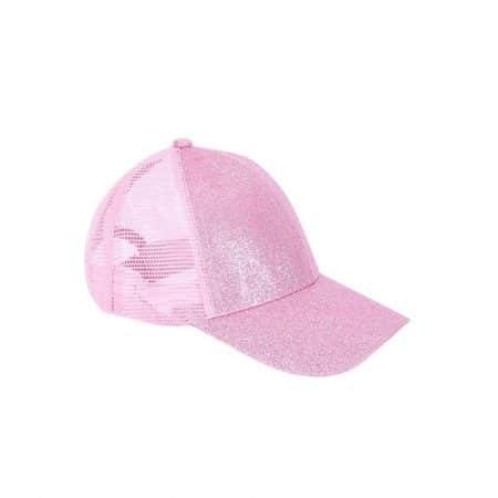 כובע נצנצים ורוד כובעים