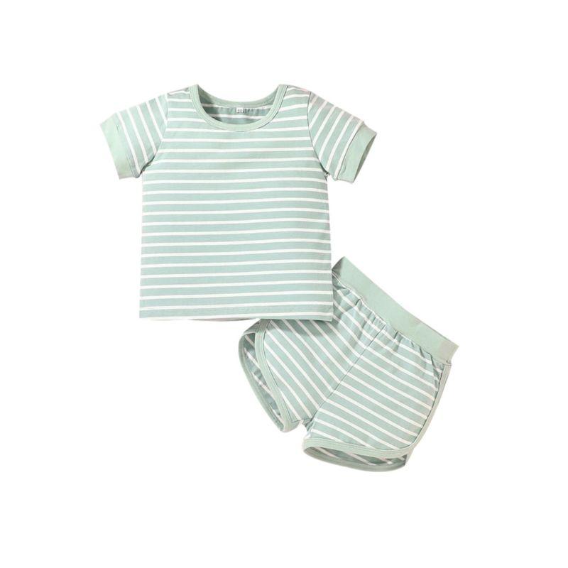 חליפת פסים- מידה: 18-24 חודשים חליפות